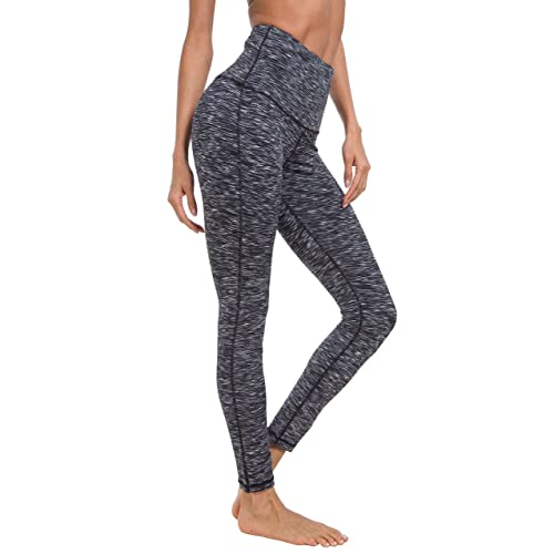 1cda46bdace10 QUEENIEKE Women Yoga Legging Power Flex High Waist Running Pants Workout  Tights