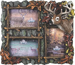 River's Edge Products 3 Picture Deer Frame