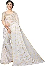Perfectblue Women's Chiffon Saree With Blouse Piece (PattiNazminVariation)