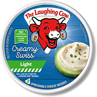 Laughing Cow Light Wedges Spreadable 32x0.75oz Total 24oz