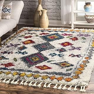 nuLOOM Lynda Moroccan Shag Rug, 4' x 6', Multi