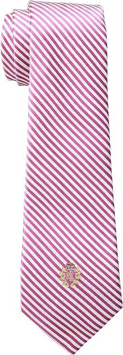 Silk Seersucker Tie