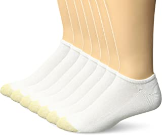 Gold Toe Men's Cushioned Cotton Liner 7-Pack