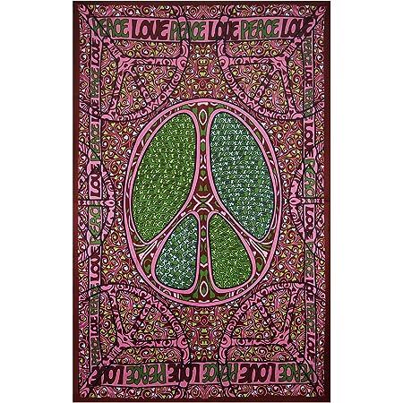 TIKISMILE Ablagefach Hippie Blumen Peace Symbol Schminktisch Schreibtisch Aufbewahrungsbox f/ür Schl/üssel M/ünzen Schmuck Handy Schreibwaren Home Valet Tablett 16x16cm Multi-1