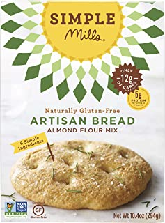 Simple Mills Almond Flour Mix, Artisan Bread, 10.4 oz