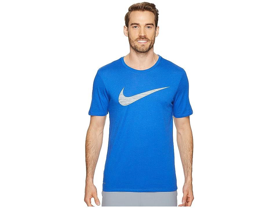 Nike Dry Swoosh Training T-Shirt (Game Royal) Men