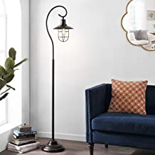 Safavieh Lighting Collection Archie 68-inch Black Iron Lantern Floor Lamp (LED Bulb Included) FLL4090A