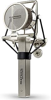 Marantz Professional MPM3000 - Micrófono de condensador y diafragma con filtro anti-popping, araña y maletín de aluminio