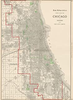 Best chicago neighborhood map poster 3rd edition Reviews