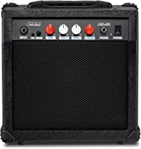 Best LyxPro Electric Guitar Amp 20 Watt Amplifier Built In Speaker Headphone Jack And Aux Input Includes Gain Bass Treble Volume And Grind - Black Review