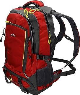 comprar comparacion BETZ Mochila Unisex para Viaje Senderismo Camping Tiempo Libre Capacity I con 4 Bolsillos Volumen de 33 litros Color Rojo