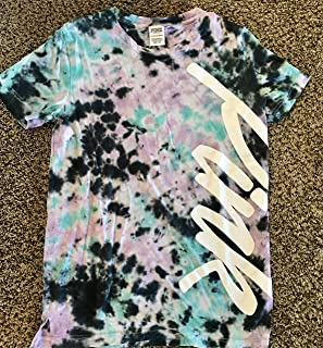 VICTORIA SECRET PINK - AWESOME tie dye TEE - SIZE XS SMALL - SOLD OUT