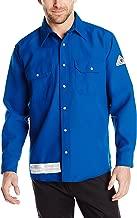 Bulwark Flame Resistant 6 oz Nomex IIIA Snap-Front Uniform Shirt