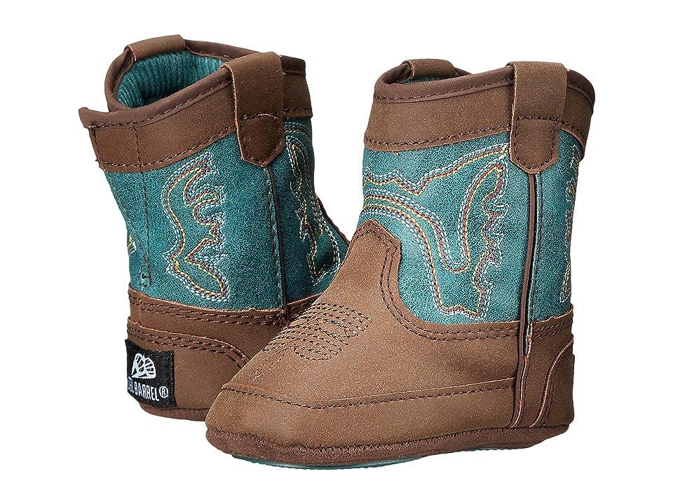 M&F Western Kids Bucker Open Range (Infant/Toddler) (Brown/Turquoise) Boys Shoes
