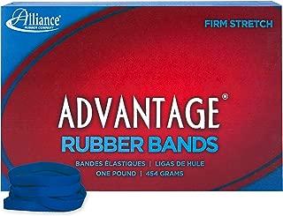 Alliance Rubber 54615 Advantage Rubber Bands Size #61, 1 lb Box Contains Approx. 535 Bands (2