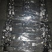 drehbarer Haken Shuchen Hosenb/ügel aus Metall 28 cm Rock mit Clips f/ür R/öcke verchromt