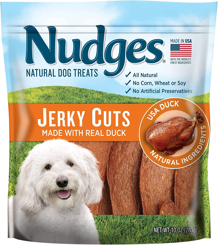 18 oz 2 Pack of Nudges Duck Jerky Dog Treats