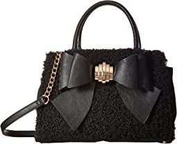 Betsey Johnson - Removable Bow Satchel