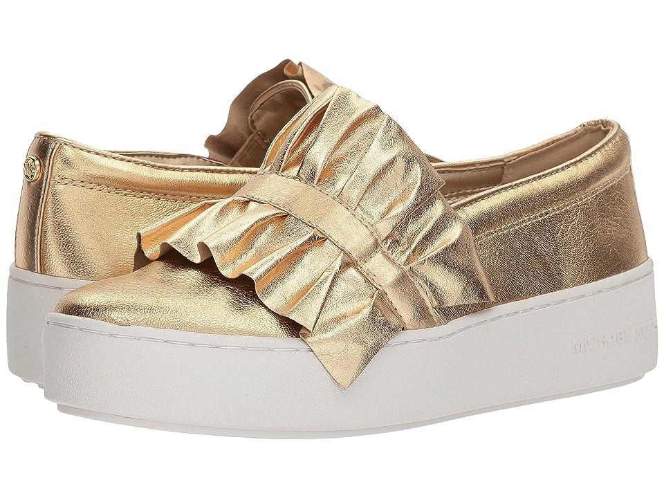 MICHAEL Michael Kors Bella Slip-On (Pale Gold) Women