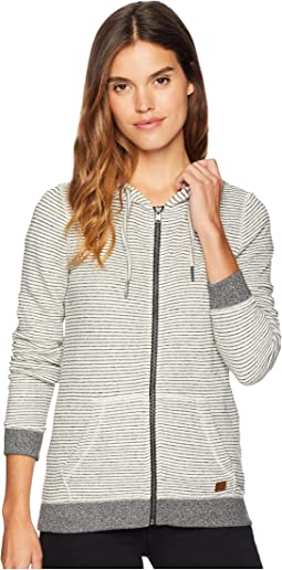 Trippin Stripes Fleece Full Zip Top