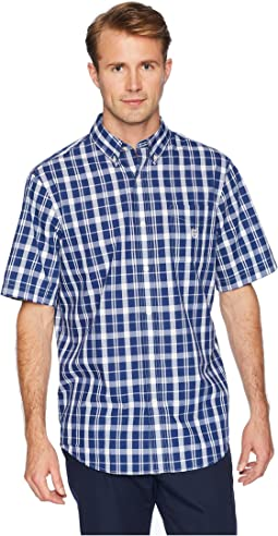 Short Sleeve Easy Care Woven Shirt