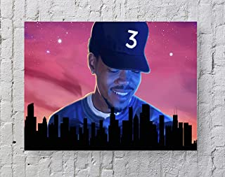 MeiMeiZ Chance The Rapper Poster Standard Size | 18-Inches by 24-Inches | Chance The Rapper Acid Rap Posters Wall Poster P...