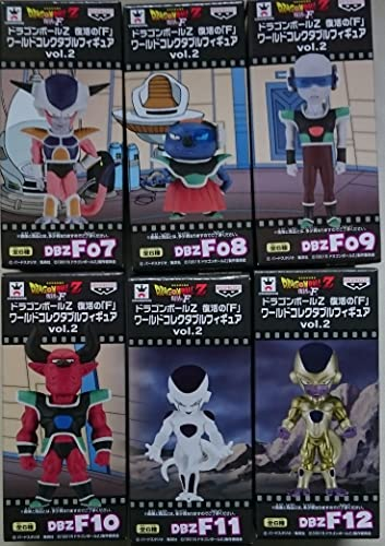 F World Collectible figure vol.2 all six sets of Dragon Ball Z revival