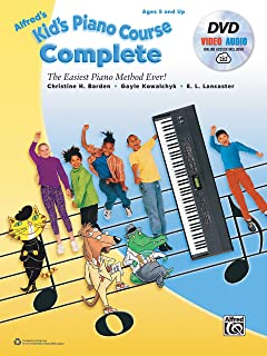 Alfred's Kid's Piano Course Complete: The Ea