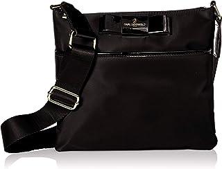 Karl Lagerfeld Paris womens Penny Slim Nylon Crossbody Bag