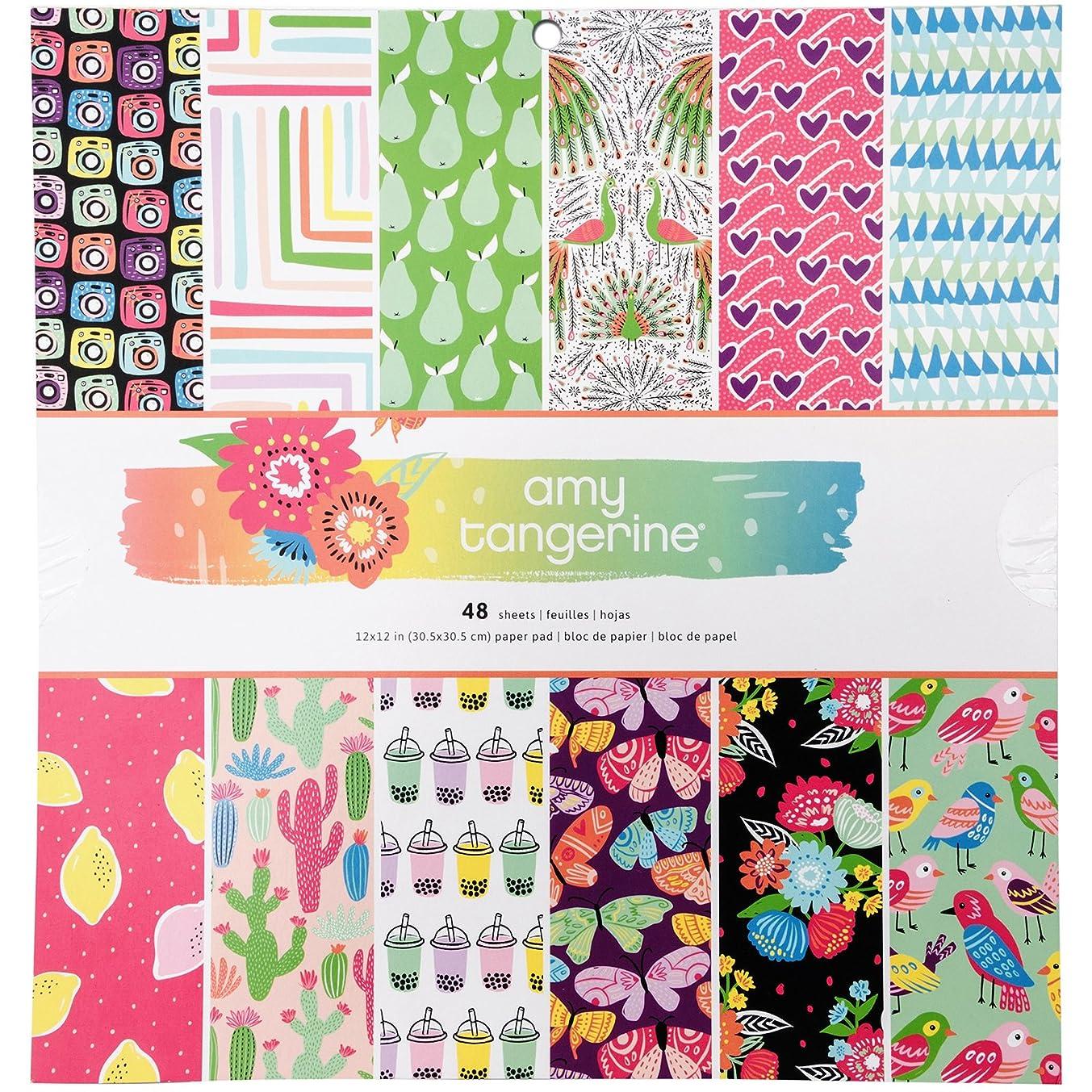 Amy Tan Sunshine & Good Times 48 Sheet 12 x 12 Paper Pad