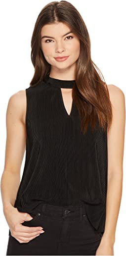 Dana Pleated Sleeveless Top