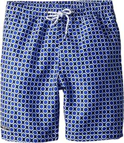 Toobydoo The Dot - Royal Swim Shorts (Infant/Toddler/Little Kids/Big Kids)