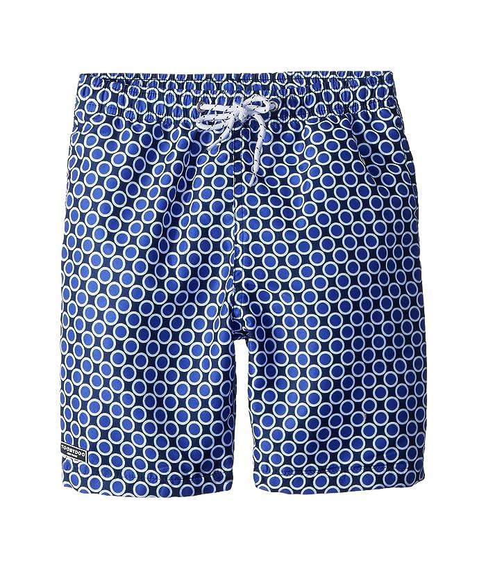 3f579f6aa90 Toobydoo The Dot - Royal Swim Shorts (Infant/Toddler/Little Kids/Big ...