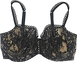 Victoria's Secret Dream Angels Wicked Uplift Push-up Without Padding Unlined Bra 36DD - Black