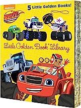 Blaze and the Monster Machines Little Golden Book Library (Blaze and the Monster Machines): Five of Nickeoldeon's Blaze an...