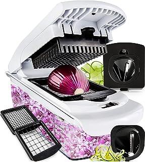 Fullstar Vegetable Chopper - Spiralizer Vegetable Slicer...