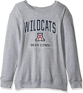 NCAA Women's Light Weight Oversized Fleece Sweat Shirt