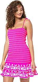 Tigerlily Women's VILLAYA Shirred POPLIN Dress