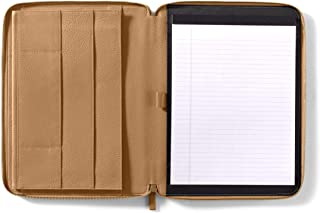 Leatherology Camel Padfolio Portfolio Compatible with 11 Inch MacBook Air