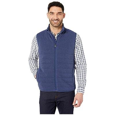 Vineyard Vines Performance Sweater Fleece Vest (Deep Bay) Men