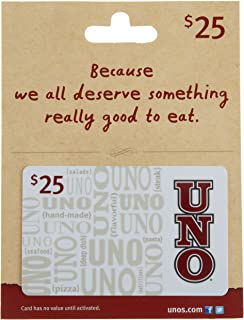 Uno's Gift Card