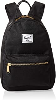 Herschel 10501-00001-OS Nova Mini Unisex Casual Daypacks Backpack - Black