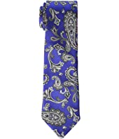 Etro - 8 cm. Paisley/Plaid Double Face Tie