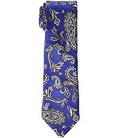Etro - 8 cm. Paisley/Plaid Double Face Tie