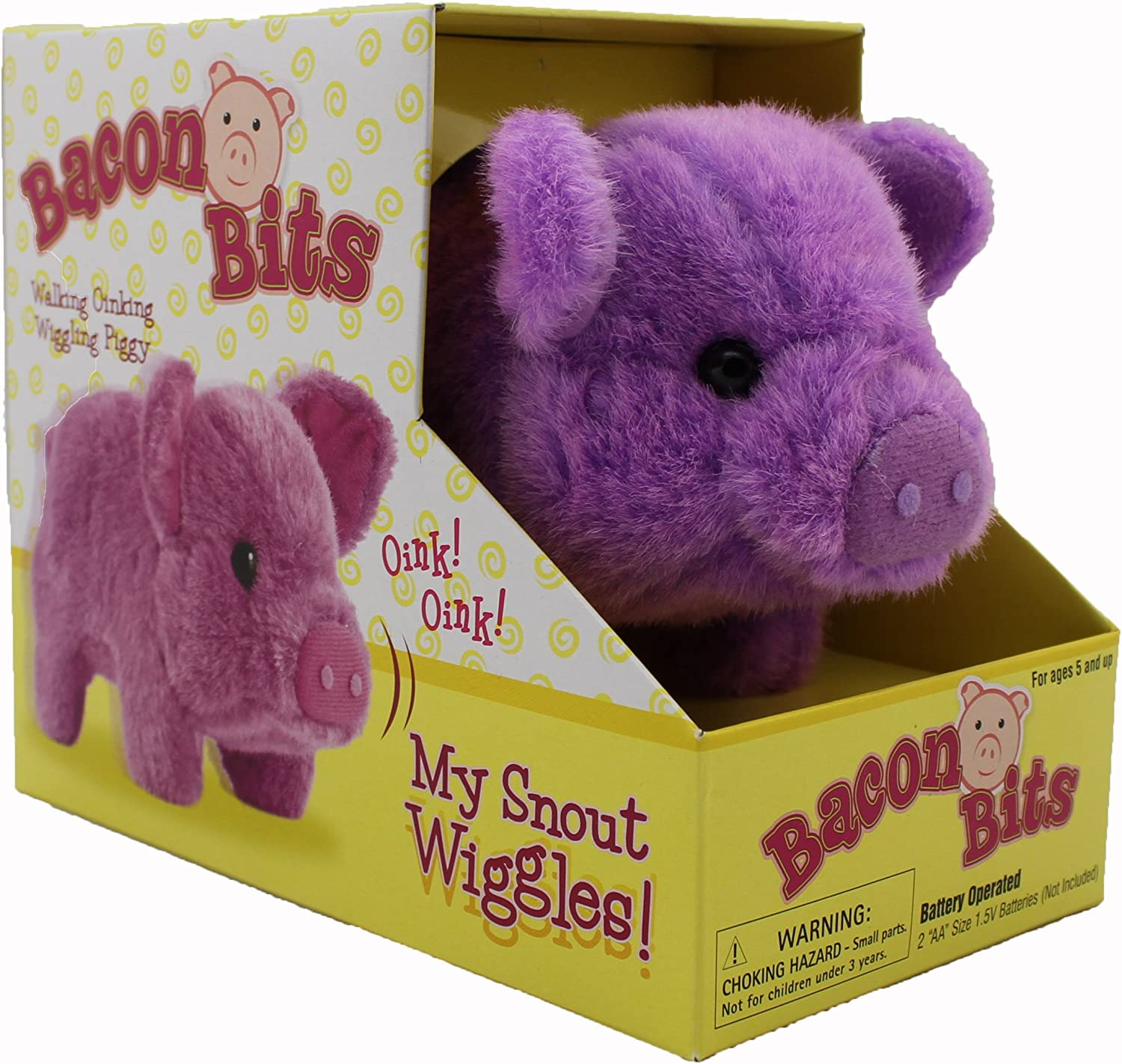 Westminster Bacon Bits, Small Pig, Purple
