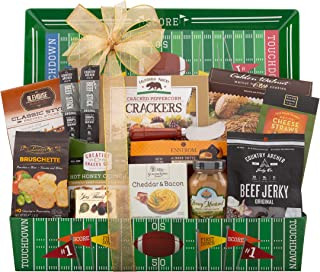 Football Lover Gift Basket, Perfect Gift for Football and Snack Lovers!