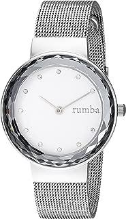 RumbaTime Women's 'Santa Monica' Quartz Stainless Steel Casual Watch, Color:Silver-Toned (Model: 26979)