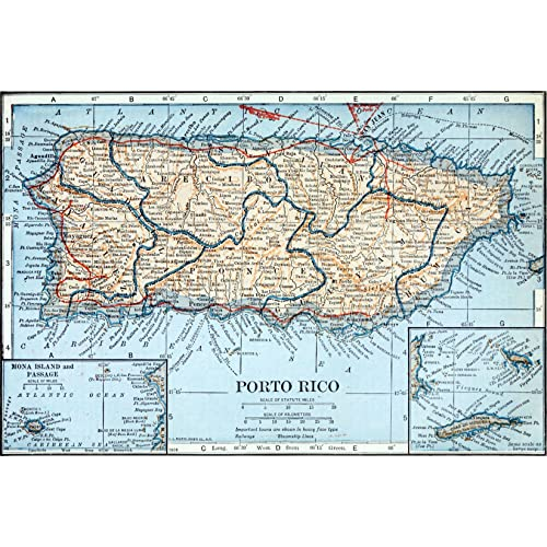 Puerto Rico Maps: Amazon.com
