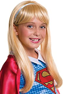 Rubie`s Costume Girls DC Super Hero Supergirl Wig