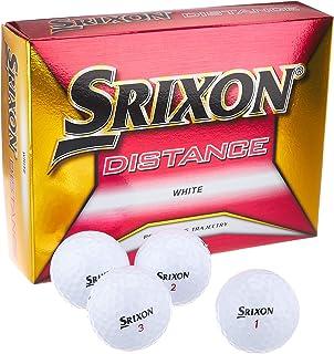 DUNLOP(ダンロップ) ゴルフボール SRIXON DISTANCE 2018年モデル 1ダース(12個入り) ホワイト